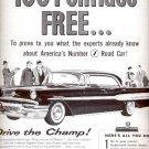 1957 Pontiac Motor Division ad (# 4721)