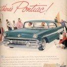 1957  Pontiac  ad (# 4658)