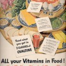 November 24, 1947     Ovaltine -- all your vitamins in food     ad  (#6460)