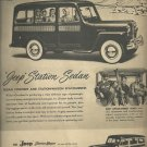 1948  Jeep Station  Sedan ad (# 3284)