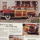 1950 Coronet Dodge     Station wagon  ad (#194)