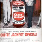 1957  Instant Chase & Sanborn Coffee   ad (# 4793)