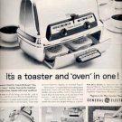 1960  General Electric  Toast-R-Oven and other small appliances   ad (#5832)