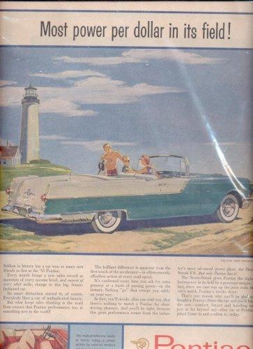 1955 Pontiac  ad - convertible (#59)