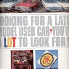1963 Used OK Cars- Chevrolet   ad (#4210)