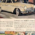1959  SIMCA Series- Chrysler ad (# 1869)