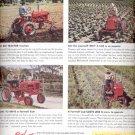 Nov. 1951 International Harvester Cub ad (#4327)