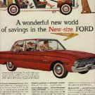 1959 ad  of 1960 Ford Falcon ( # 749)