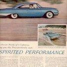 1960  Thunderbird's '60 Ford ad (# 2519)
