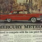 1960 ad  of 1961 Mercury Meteor (# 1302)