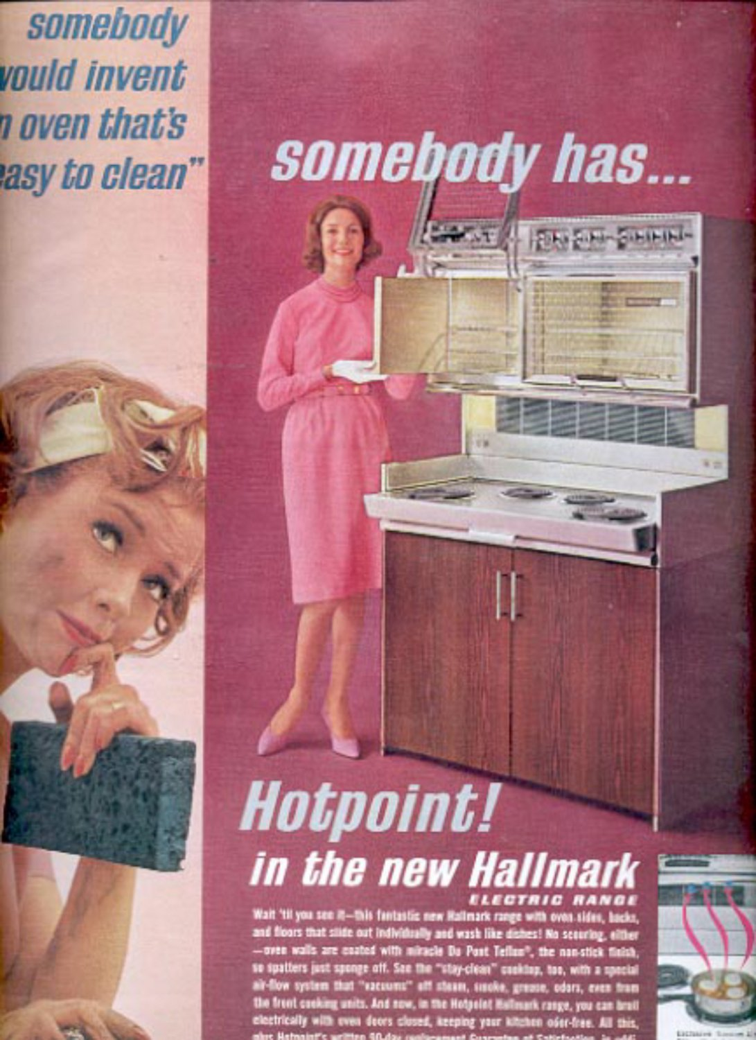 1963  Hotpoint oven - electric range  ad (#5399)