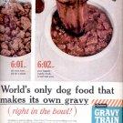 1960 Gravy Train Dog Food  ad (# 5275)