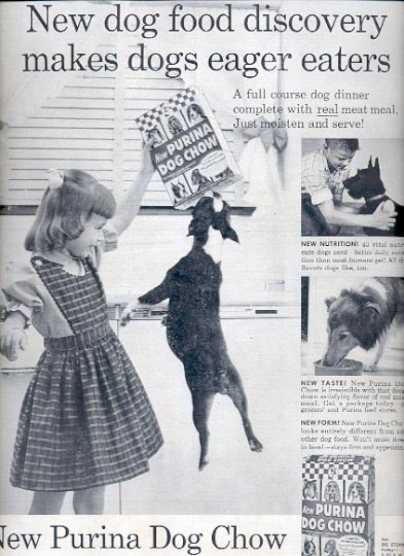 1957    Purina Dog Chow  ad (# 5000)