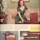 1940  - 1847 Rogers Bros. silverplate with Geraldine Fitzgerald    ad (#6012)