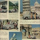 1948  Ford's out front on a trip abroad ad (# 540)