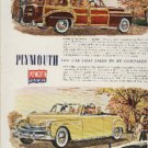 1950 Plymouth   ad (#260)