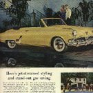 1952  Studebaker ad (# 1019)