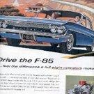 1961  F-85 Oldsmobile ad ( #2633)