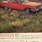 1962  Chrysler 300 ad ( # 1864)