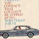 1960 ad of 1961  Valiant (# 1726)