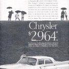 1961  Chrysler ad ( # 2632)