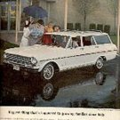1963  Chevy II Nova 400  Station Wagon ad (# 1385)