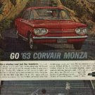 1962 ad of 1963 Corvair Monze by Chevrolet   (# 777)