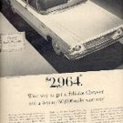 1963  Chrysler Newport ad ( # 1586)