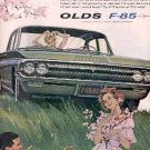 1962 Olds  F-85 ad ( # 2726)