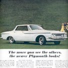 1962 The new Plymouth   ad (# 2658)