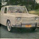November 6, 1962 Renault R-8 ad ( # 1402)