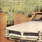 1963  Pontiac  Bonneville ad (# 1387)
