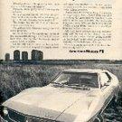 1971  Javelin American Motors ad (#  1506)
