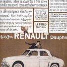 Nov. 1959  Renault  Dauphine ad ( # 2653)
