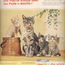 1959   Puss 'n Boots cat Food  ad (# 4369)