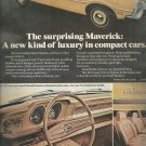 Nov. 17, 1972 Ford Maverick for 1973    ad  (# 5401)