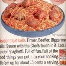 1960   Chef Boy-ar-dee Spaghetti and Meatballs   ad (#5847)