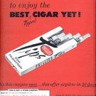 June 19, 1965    Phillies Tips Cigar      ad  (#1875)
