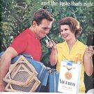 June 6, 1964    - Viceroy Cigarettes          ad  (#1394)