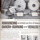 1957 Robt. Burns tobacco  ad (# 4753)