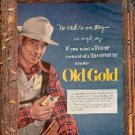 1952   Old Gold    ad (# 1830)