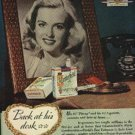 1945 Chesterfield    Cig. ad (# 845)