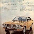 1972  Toyota Mark II ad ( # 1533)