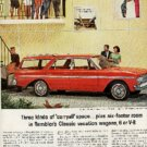 1963 Rambler   6 or V-8 ad (# 398)