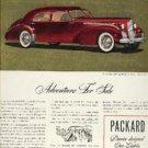 1939 ad of 1940 Packard  Custom one-eighty (# 308)