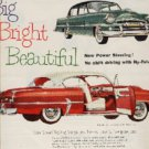 1953 ad of 1954 Plymouth   # (361)