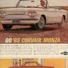 Nov. 20, 1962 ad of '63 Chevrolet Corvair Monza (#2353)