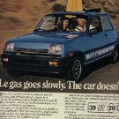 1981  Reanualt Le Car ad ( # 1259)
