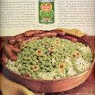 1962    Del Monte Sweet Peas   ad (#4154)