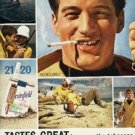 1963 Chesterfield     cig.  ad (#  578)